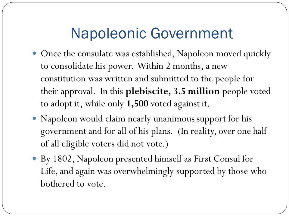 Napoleonic Government