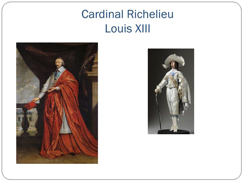 Cardinal Richelieu Louis XIII
