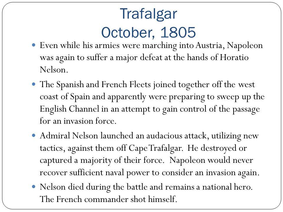 Trafalgar October, 1805