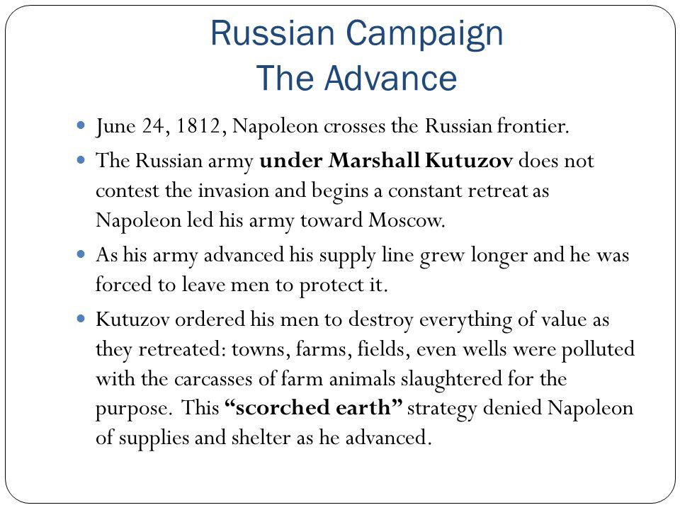 Russian Campaign The Advance