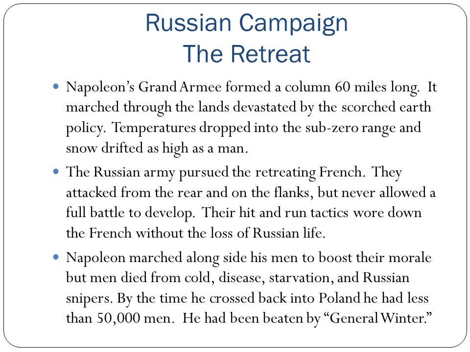 Russian Campaign The Retreat