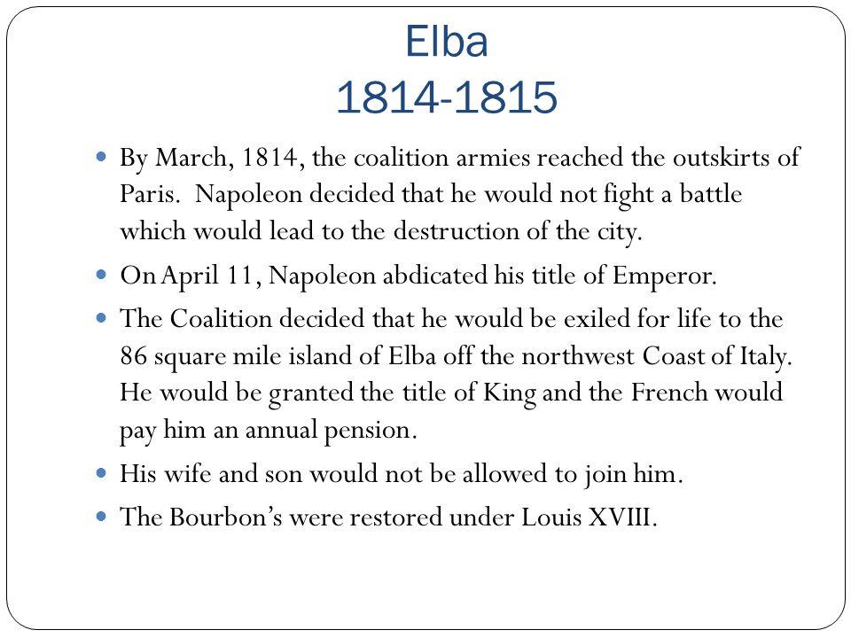 Elba 1814-1815