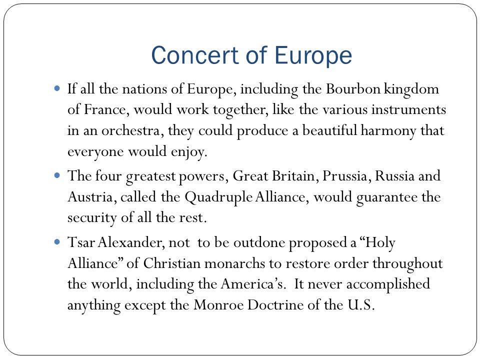 Concert of Europe