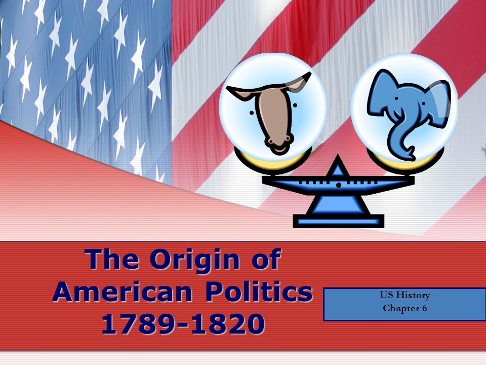 The Origin of American Politics 1789-1820