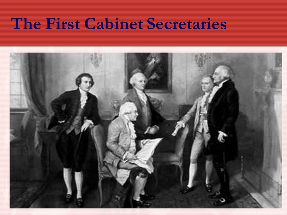 The First Cabinet Secretaries