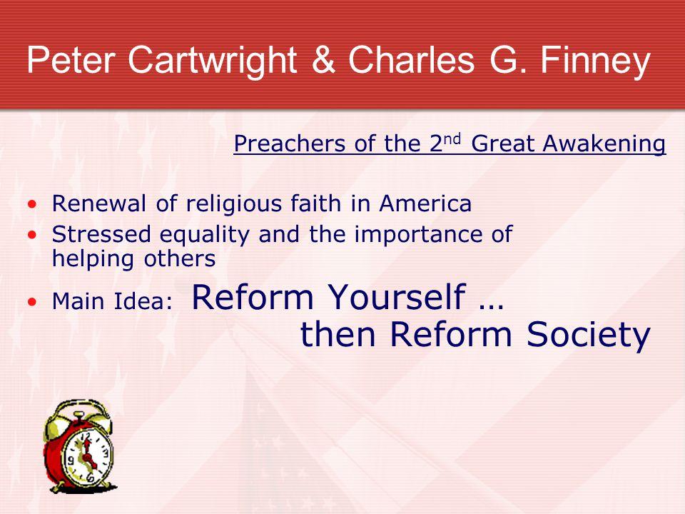 Peter Cartwright & Charles G. Finney