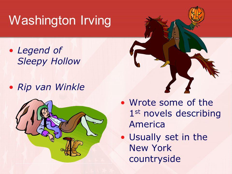 Washington Irving Legend of Sleepy Hollow Rip van Winkle