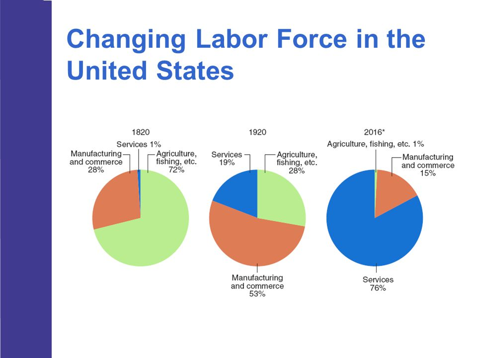 Changing Labor Force in the United States