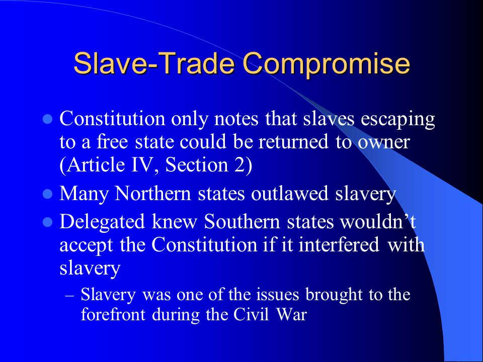 Slave-Trade Compromise