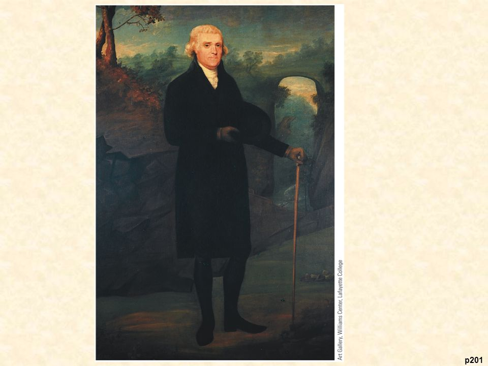 Thomas Jefferson at Natural Bridge, by Caleb Boyle,