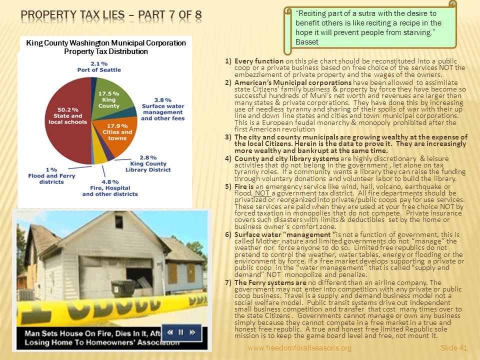 Property tax lies – Part 7 of 8