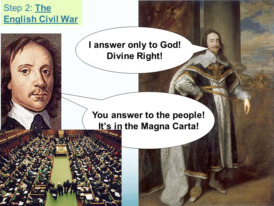 Step 2: The English Civil War
