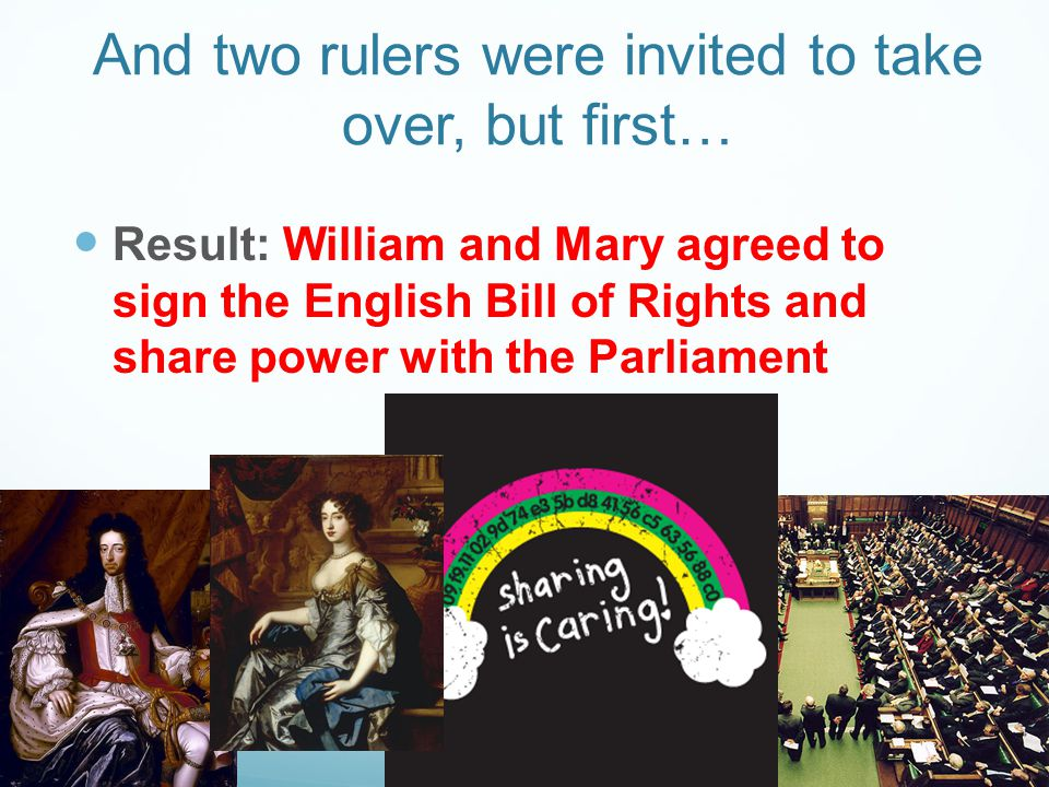 And two rulers were invited to take over, but first…