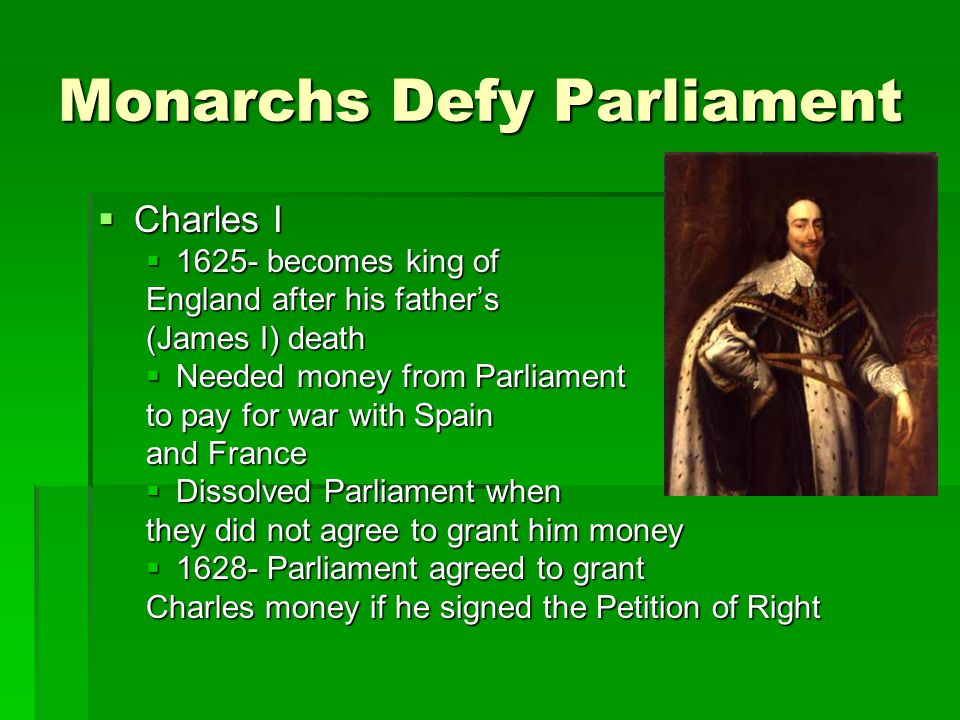 Monarchs Defy Parliament