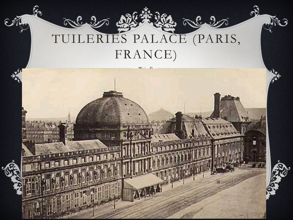 Tuileries Palace (Paris, France)