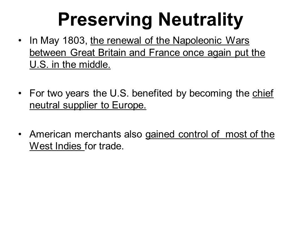 Preserving Neutrality