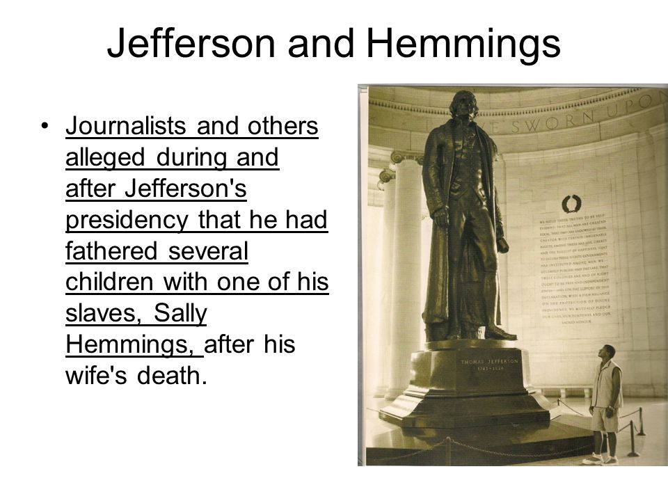 Jefferson and Hemmings
