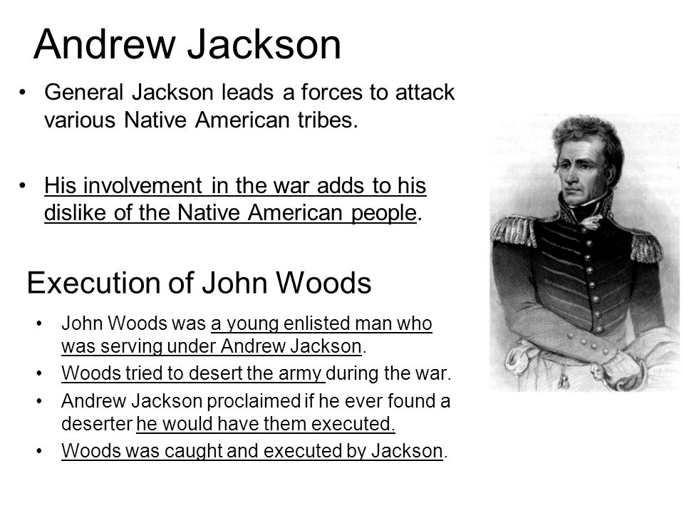 Execution of John Woods
