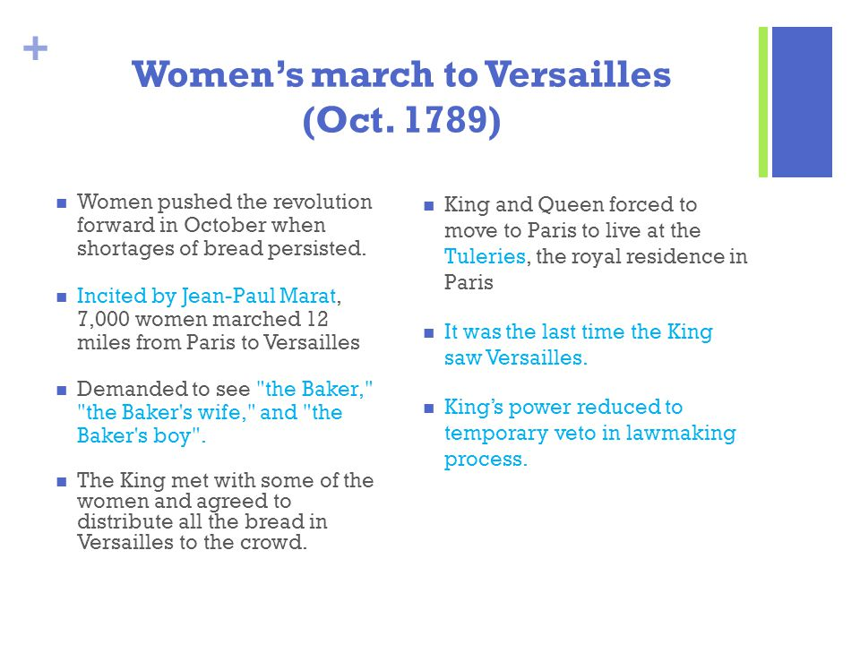 Women's march to Versailles (Oct. 1789)
