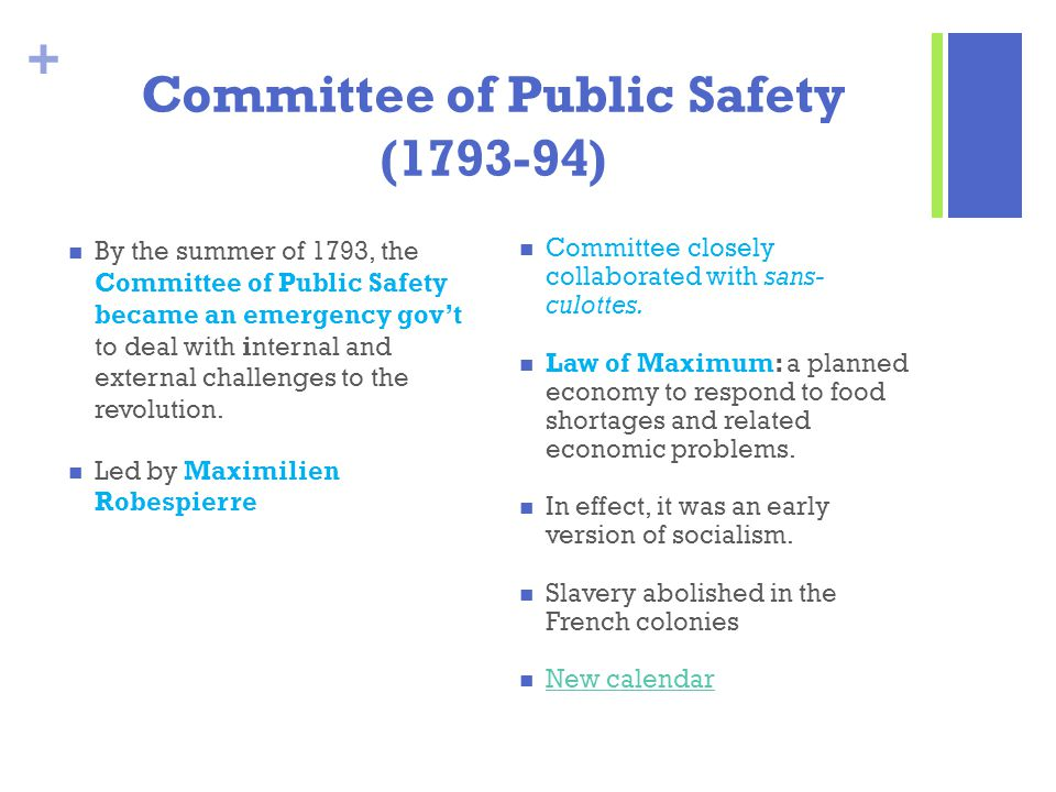 Committee of Public Safety (1793-94)