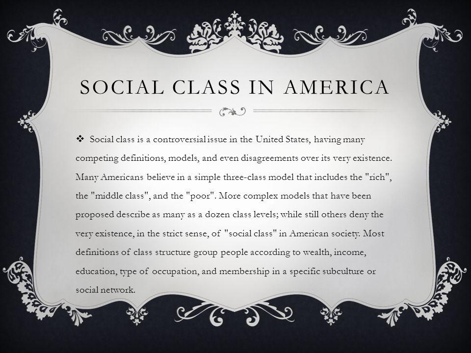 Social Class in America