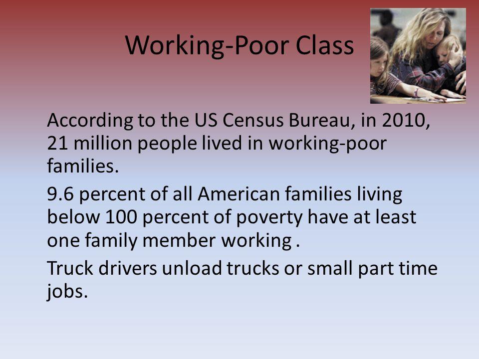 Working-Poor Class