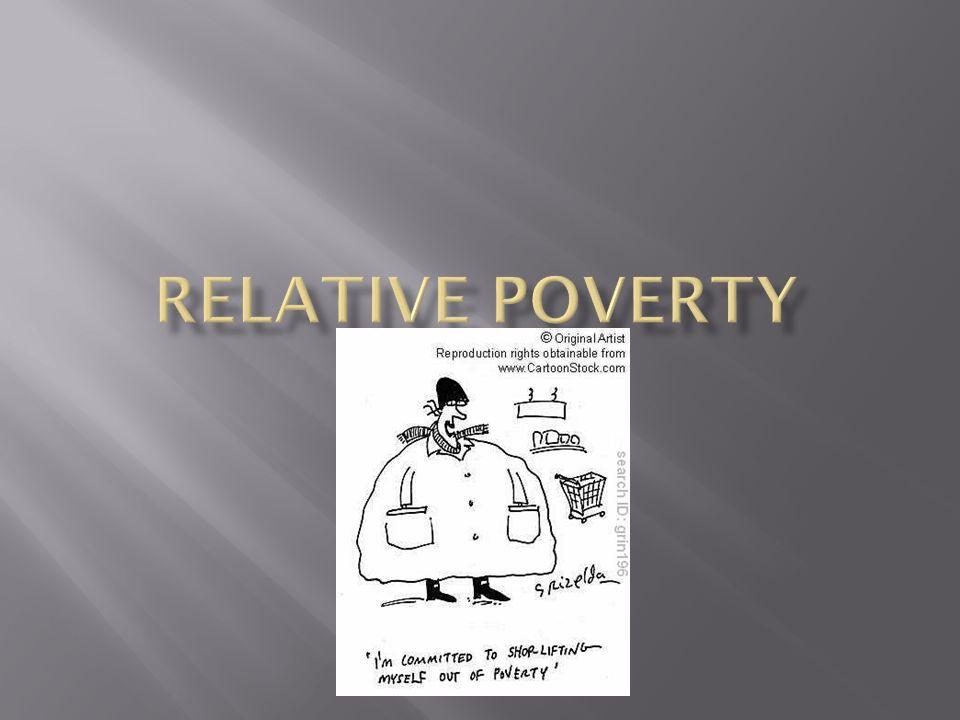 Relative poverty Jasmine Hoff