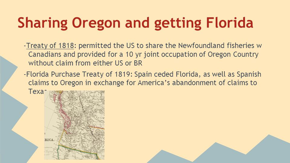 Sharing Oregon and getting Florida