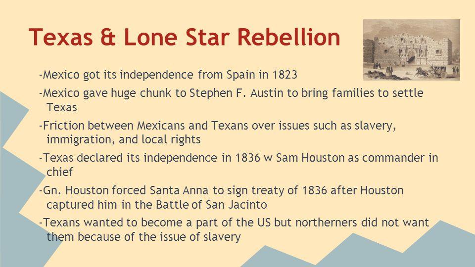 Texas & Lone Star Rebellion