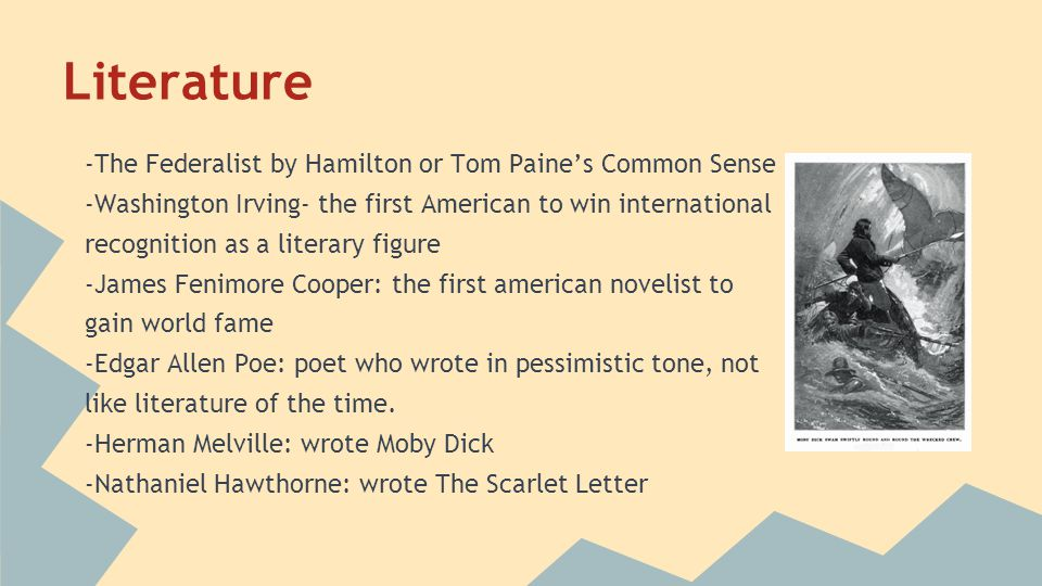 Literature -The Federalist by Hamilton or Tom Paine's Common Sense