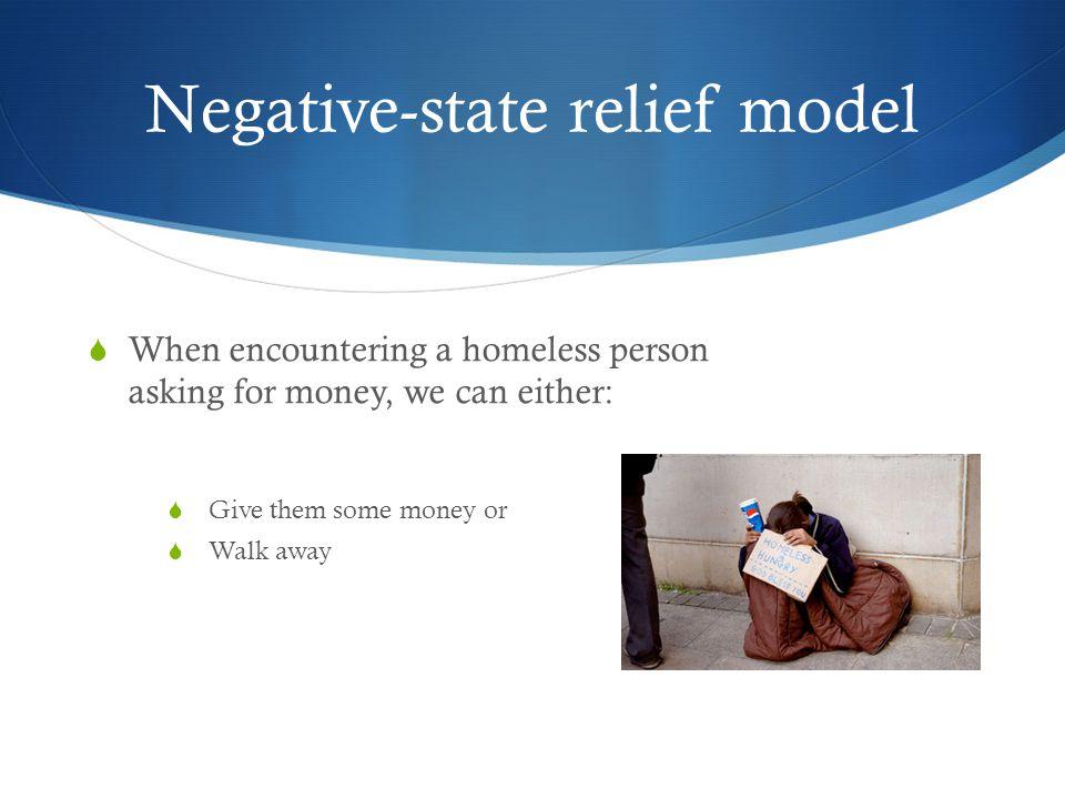 Negative-state relief model