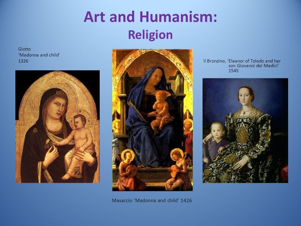 Art and Humanism: Religion