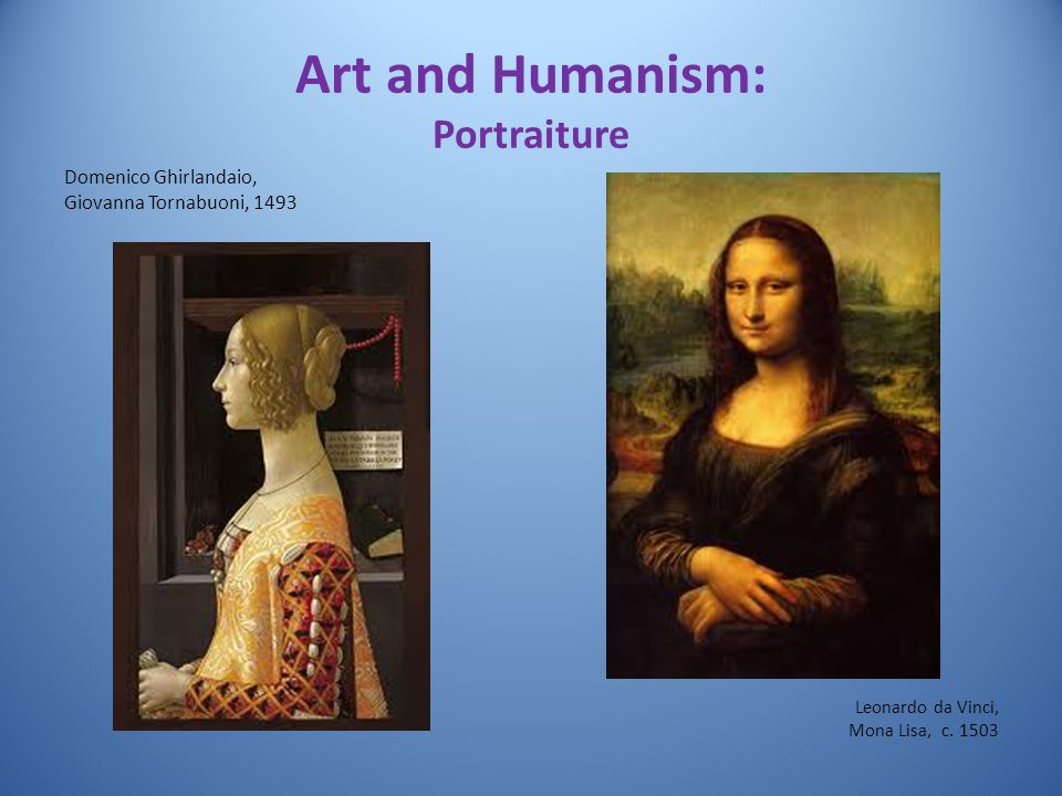 Art and Humanism: Portraiture