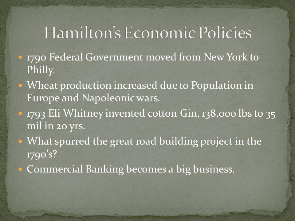Hamilton's Economic Policies