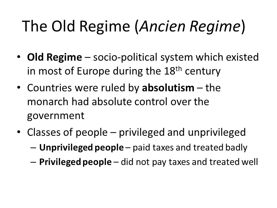 causes of the french revolution ppt video online  2 the