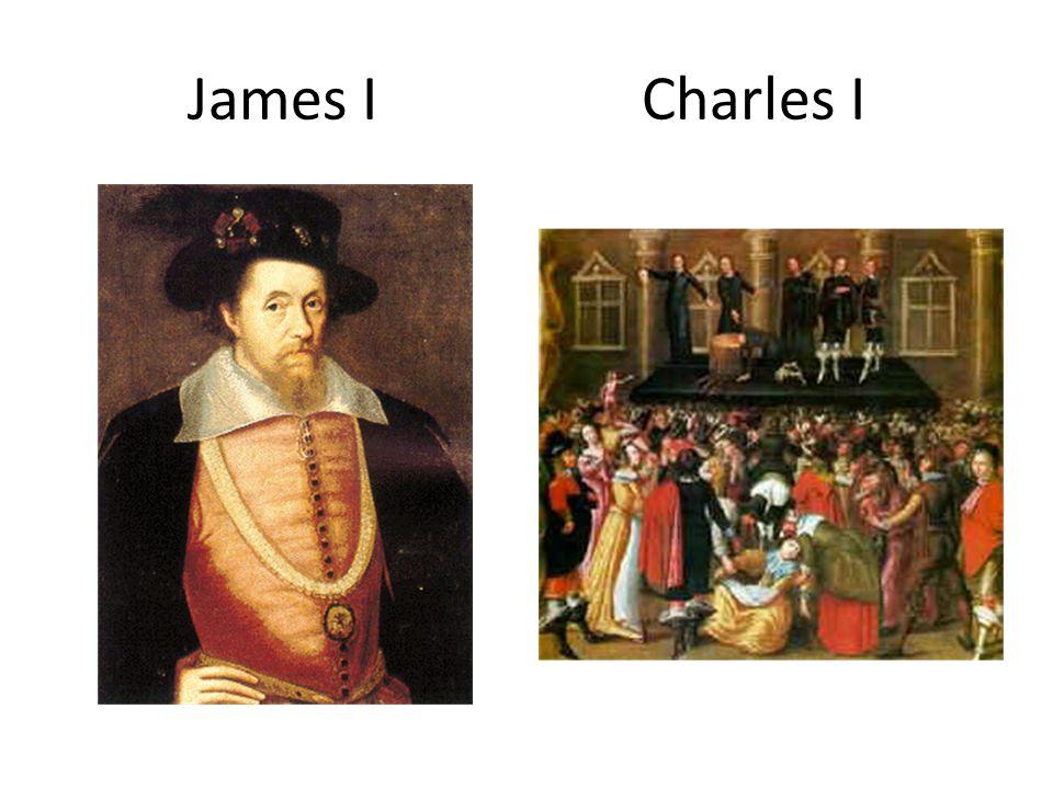 James I Charles I