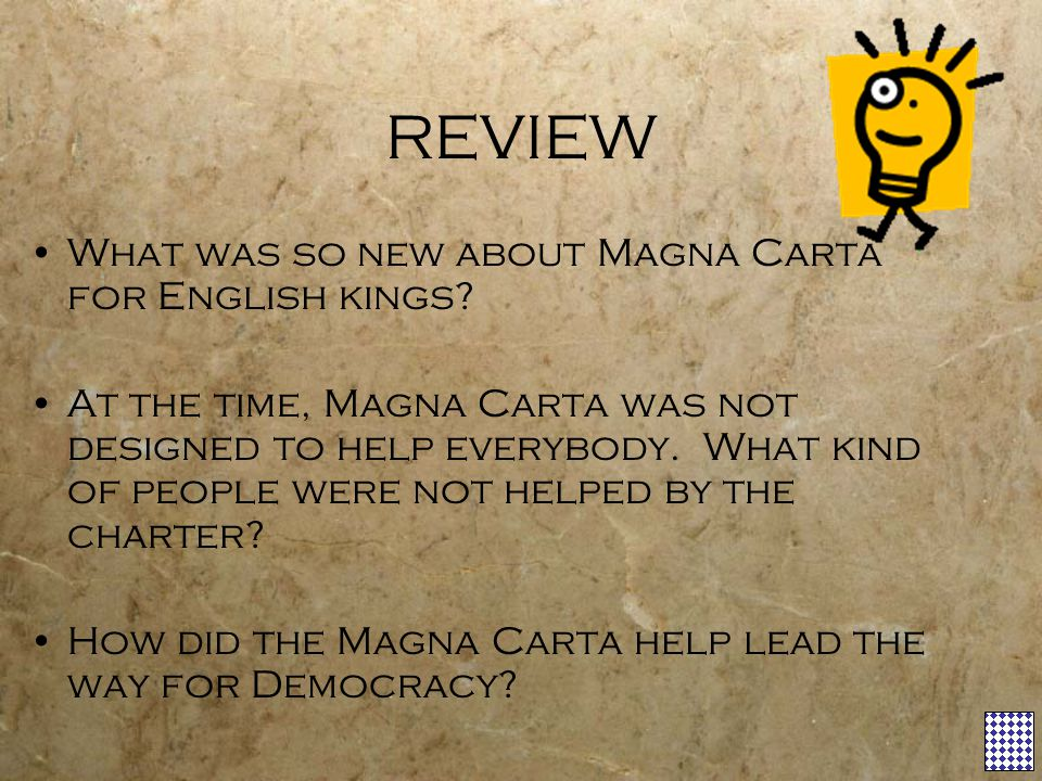 REVIEW What was so new about Magna Carta for English kings