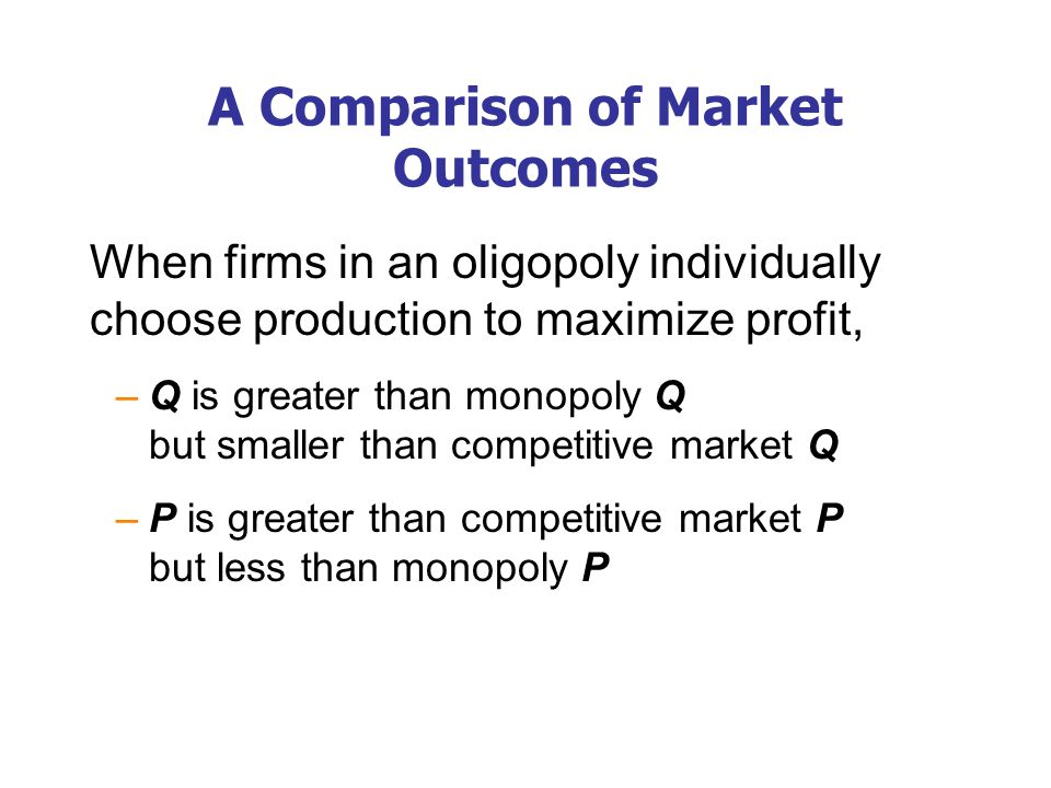 The Output & Price Effects