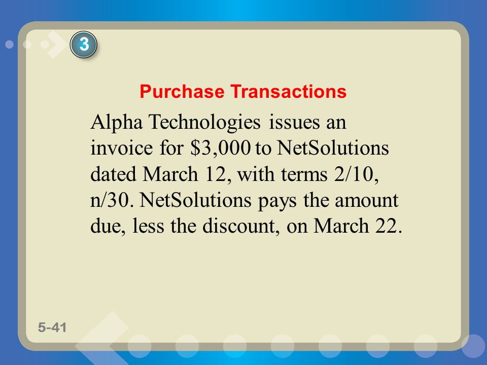 Purchase Transactions