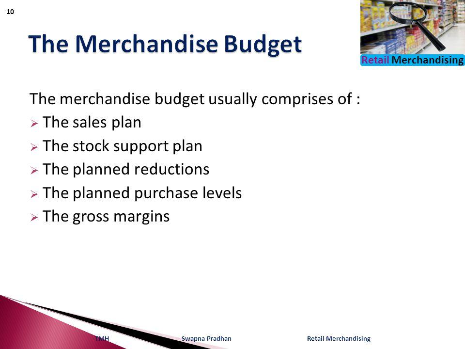 The Merchandise Budget
