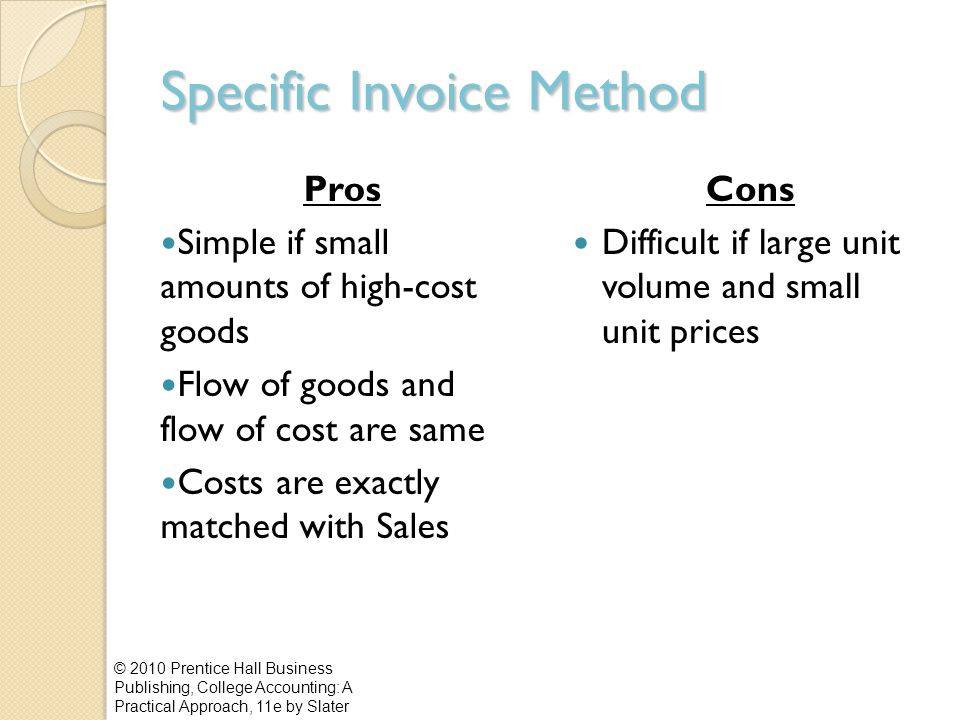 Specific Invoice Method