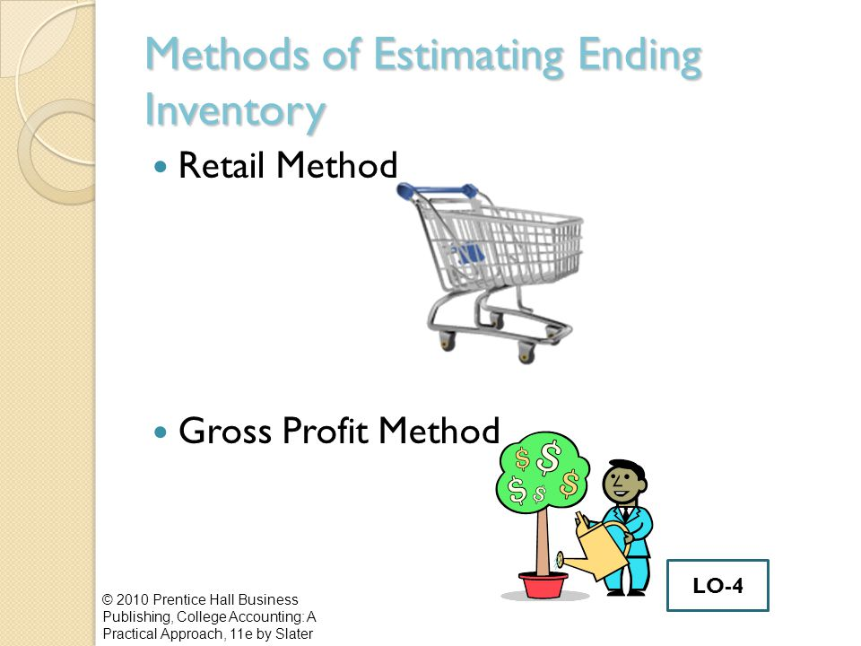 Methods of Estimating Ending Inventory