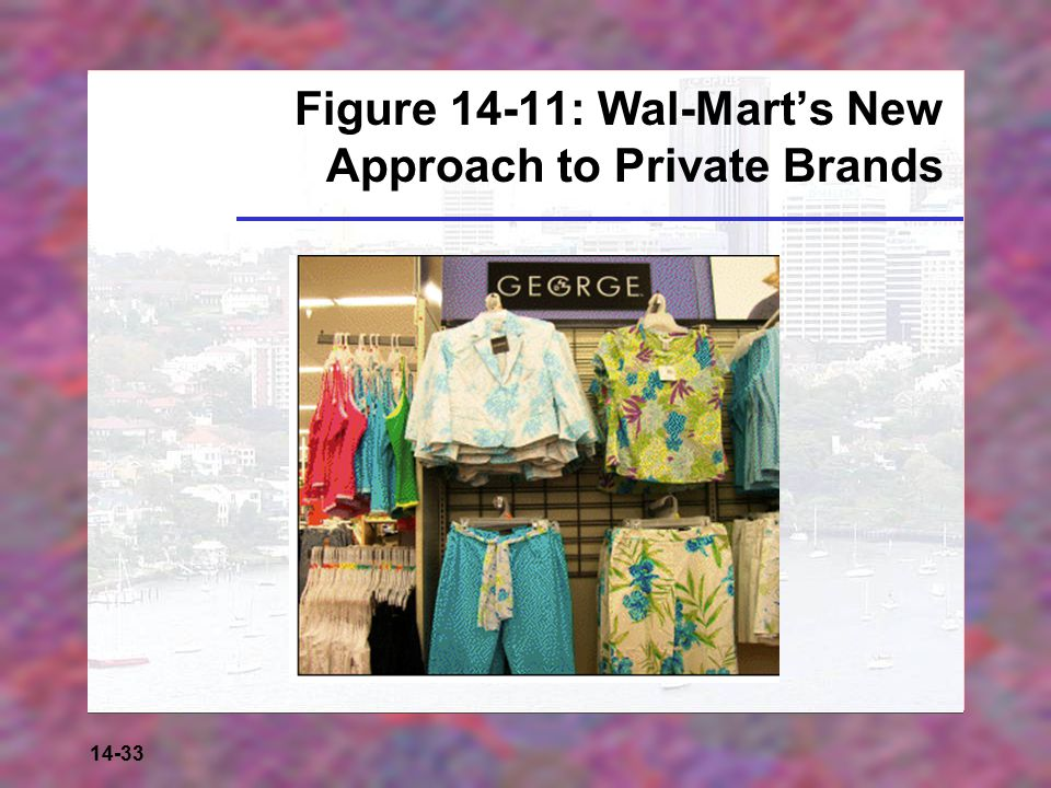 Figure 14-11: Wal-Mart's New Approach to Private Brands