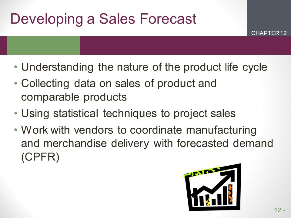 Developing a Sales Forecast