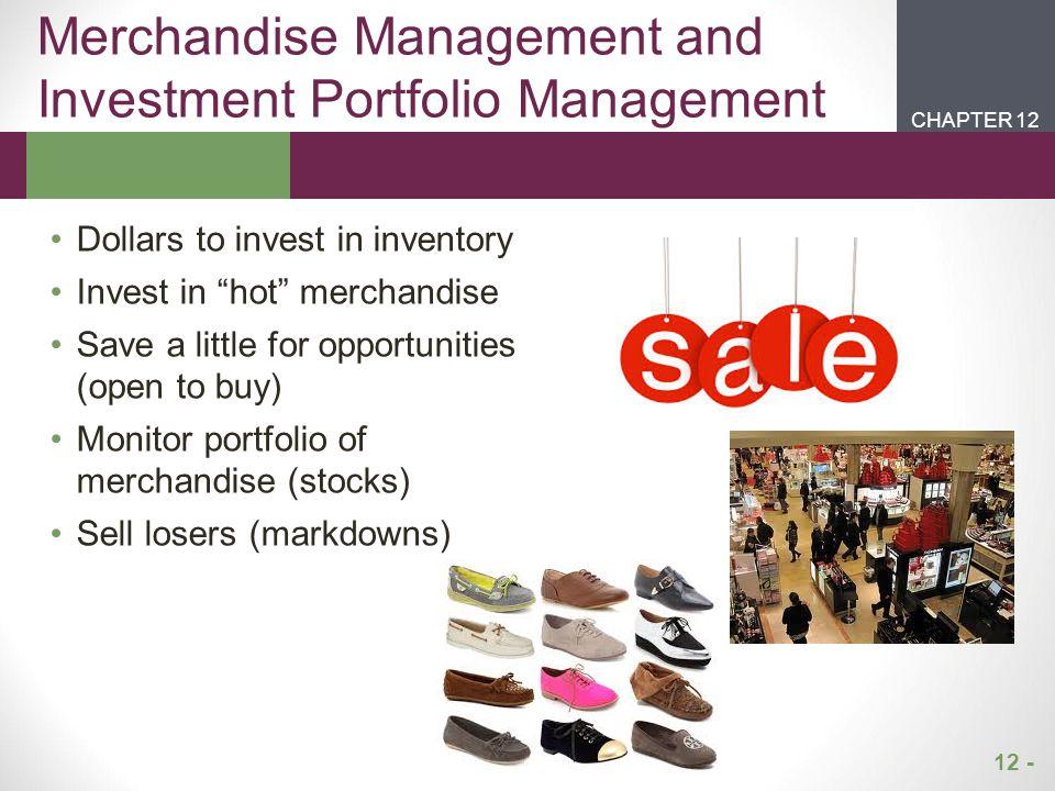 Merchandise Management and Investment Portfolio Management