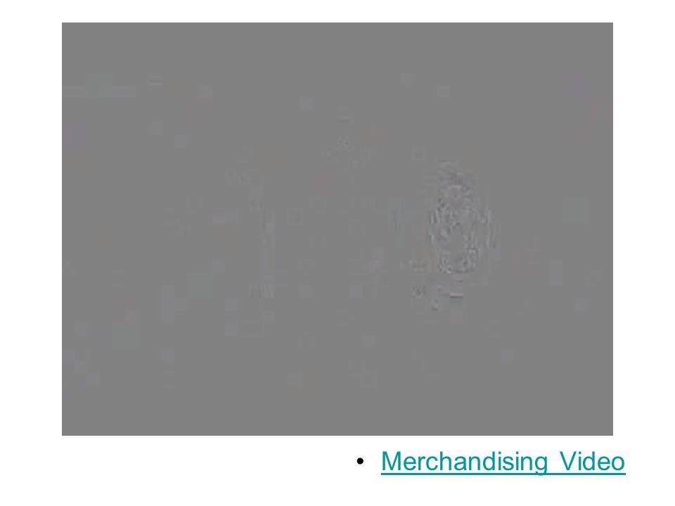 Merchandising Video