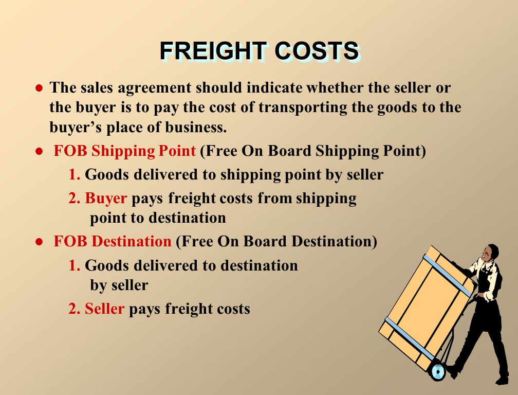 FREIGHT COSTS