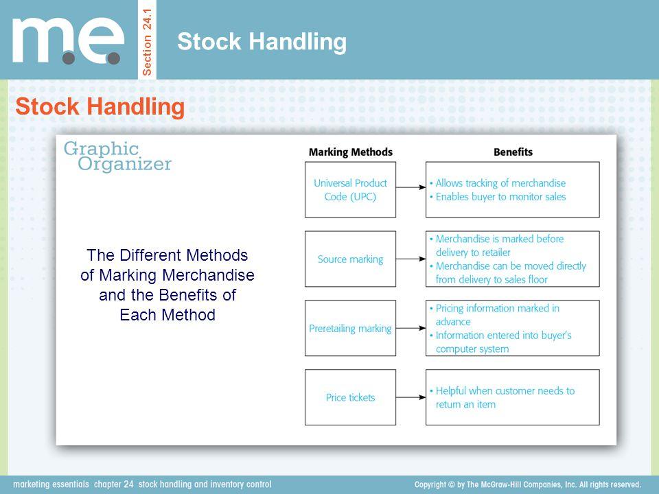 Stock Handling Stock Handling