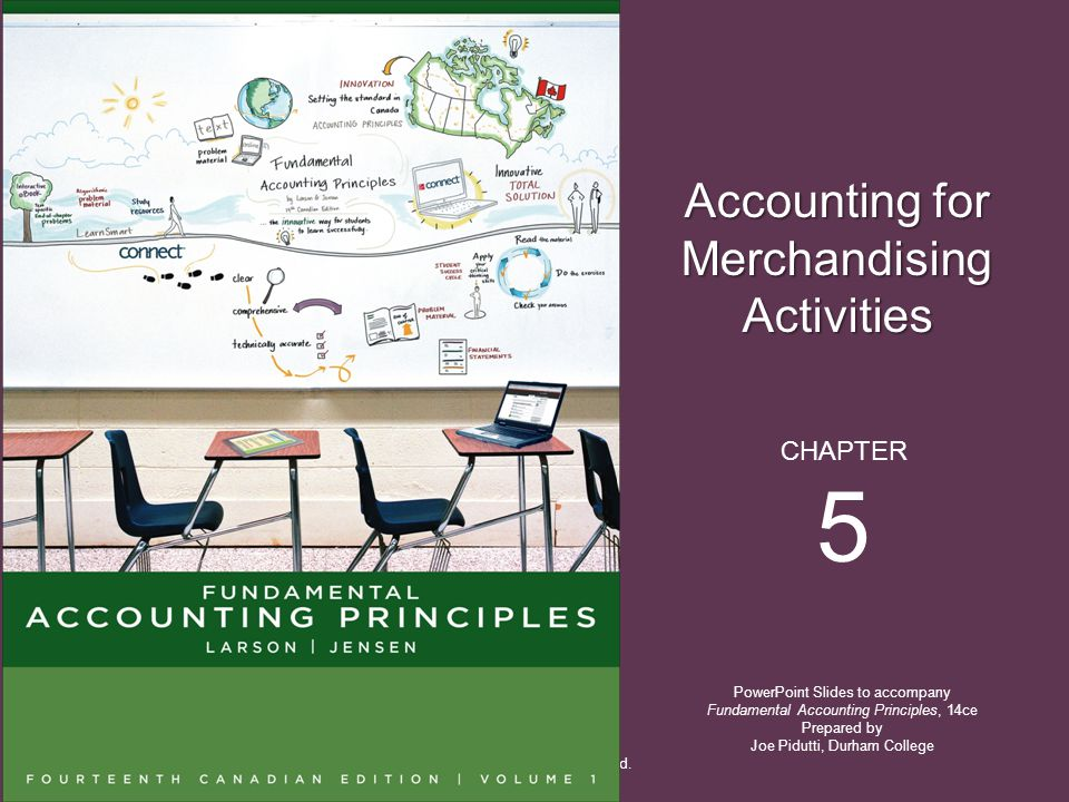 5 Accounting for Merchandising Activities CHAPTER