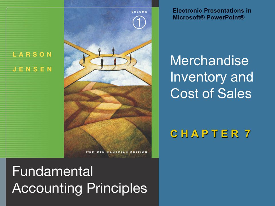 Merchandise Inventory and Cost of Sales
